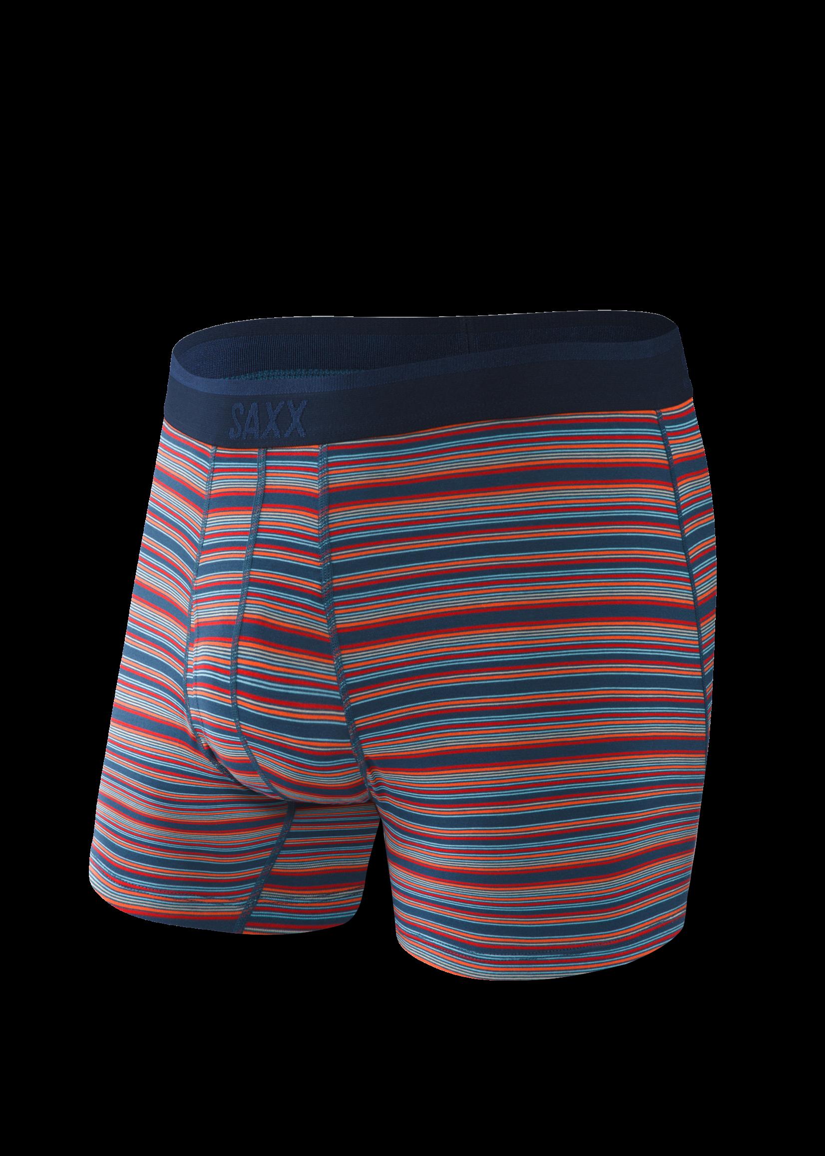 """SAXX SAXX's """"Blue Mirage Stripe"""" Platinum Boxer Brief"""