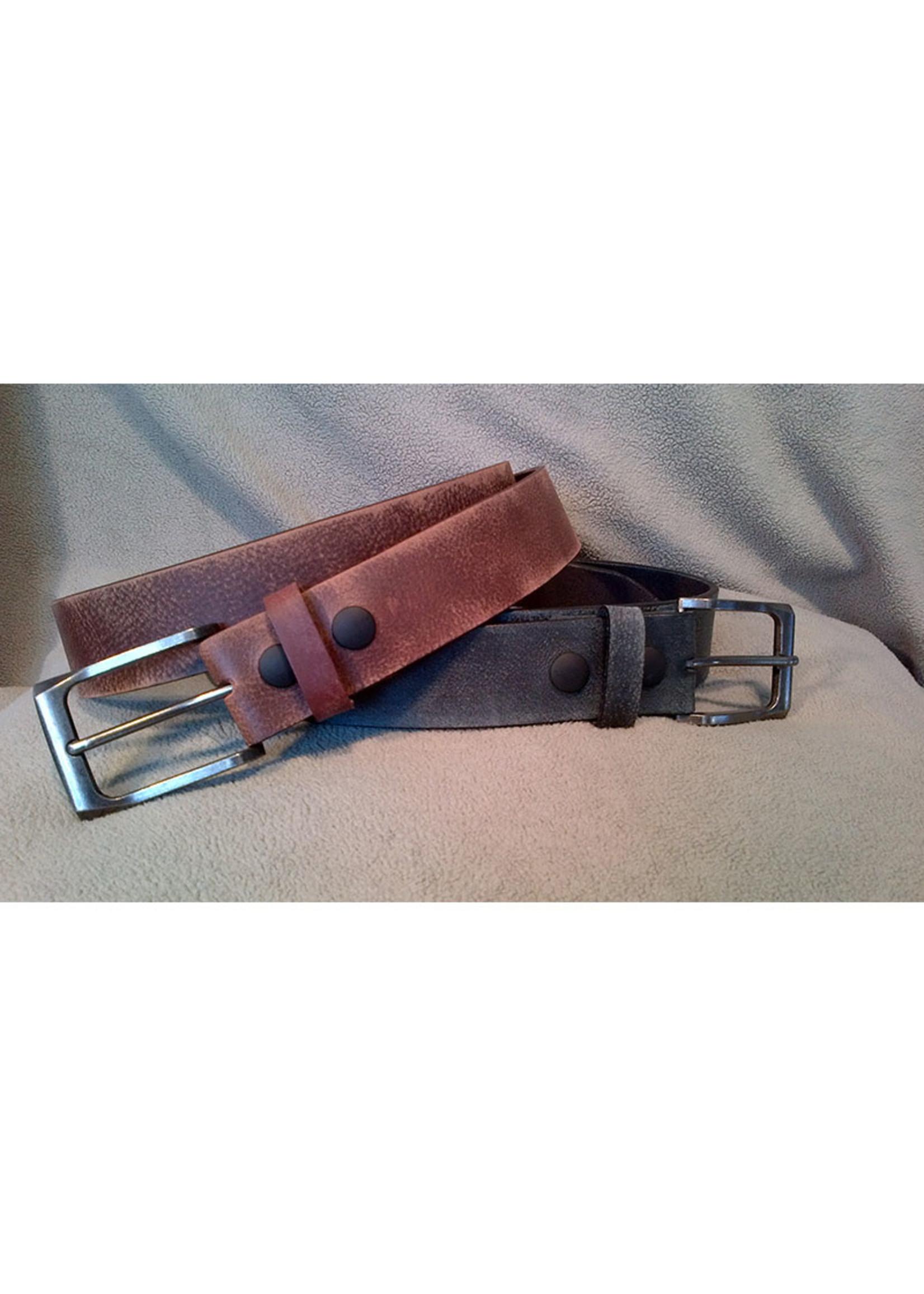 Europe Dezines Europa Dezines - Distressed Leather Belt