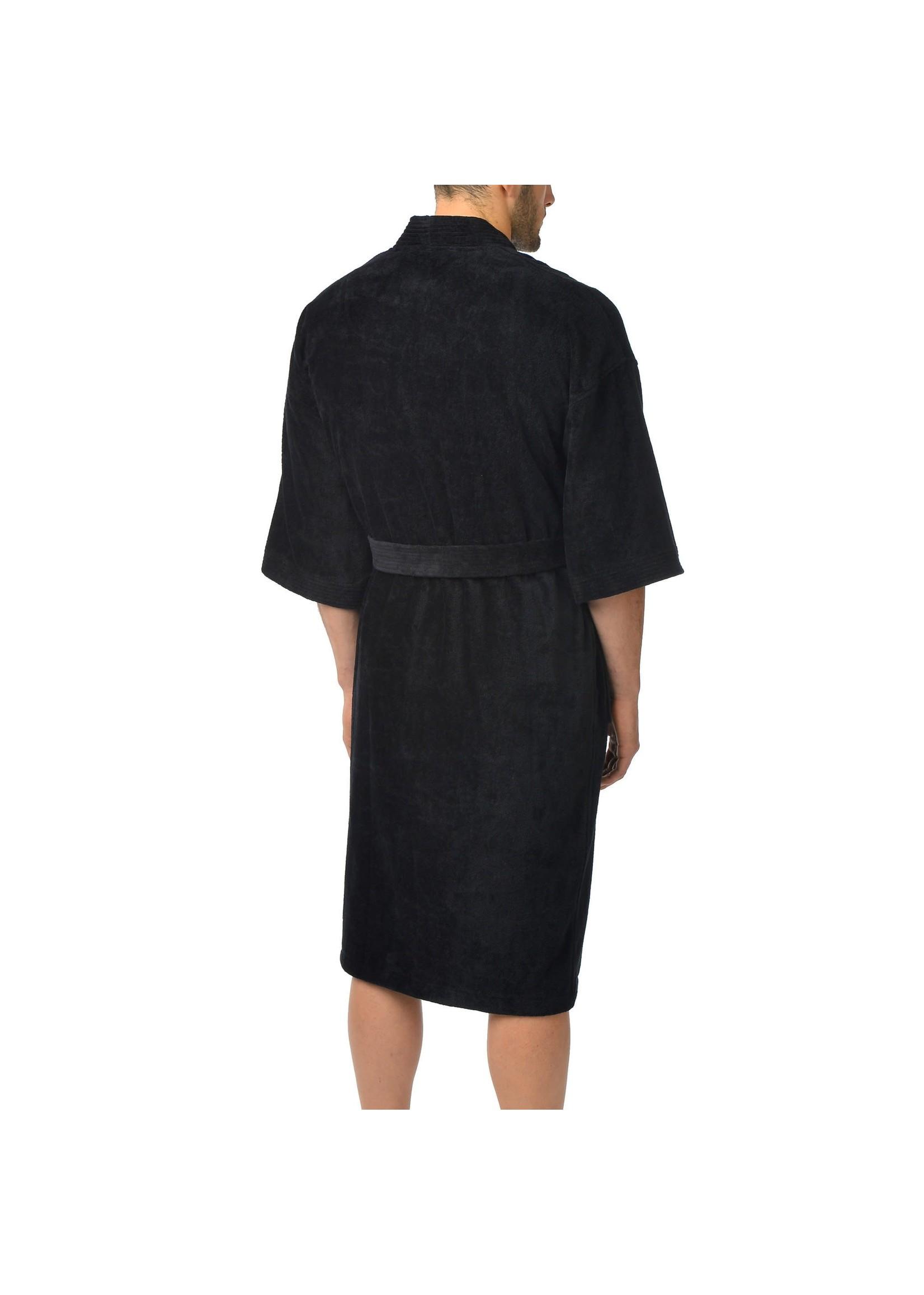 """Majestic International The """"Terry  /Velour"""" Kimono Robe"""