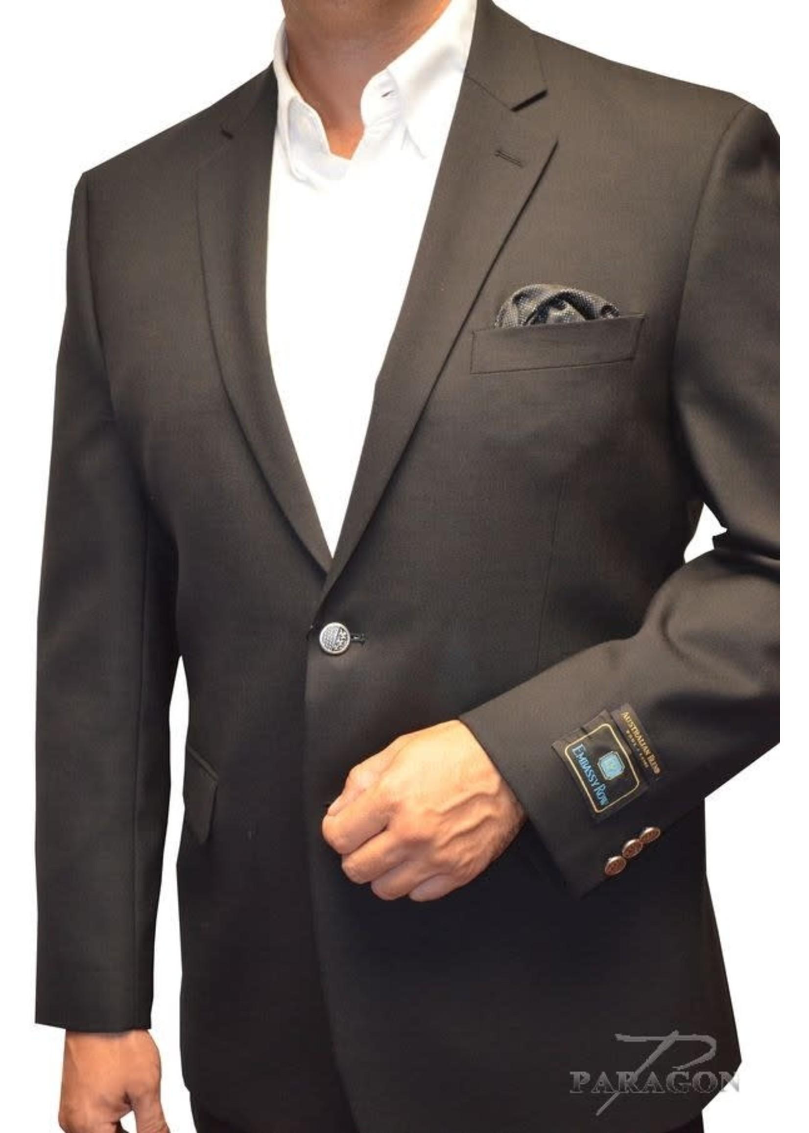 "Embassy Row Dante BLACK Blazer ""LONDON Classic FIT"""