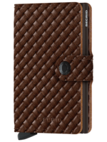 Secrid Secrid - Basket Weave Brown