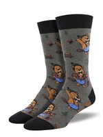 Socksmith Canada Inc Socksmith Canada - Graphic Cotton Crew - Knotty Beaver