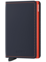 Secrid Secrid - Slimwallet Matte Nightblue / Orange