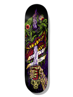 Deathwish Skateboards DEATHWISH- Neen Slayer TWIN NOSE 8.5 (Gold Foil)
