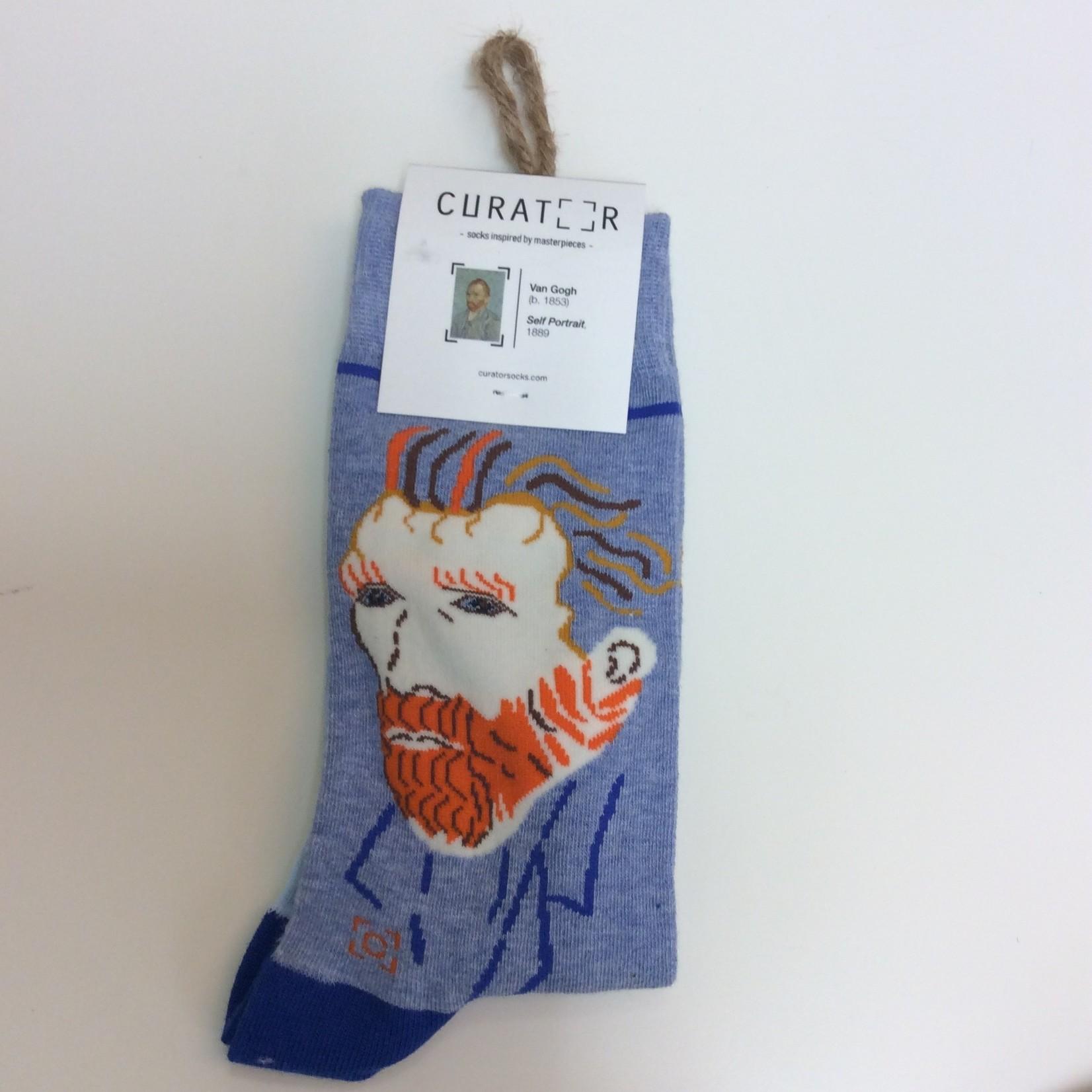 Curator Socks VAN GOGH SELF-PORTRAIT SOCKS
