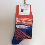 Curator Socks The Scream Socks - Munch