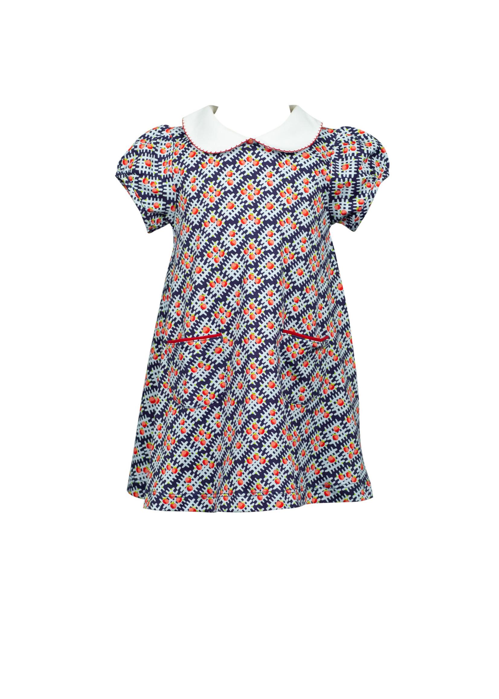 Proper Peony Apple Aline Dress