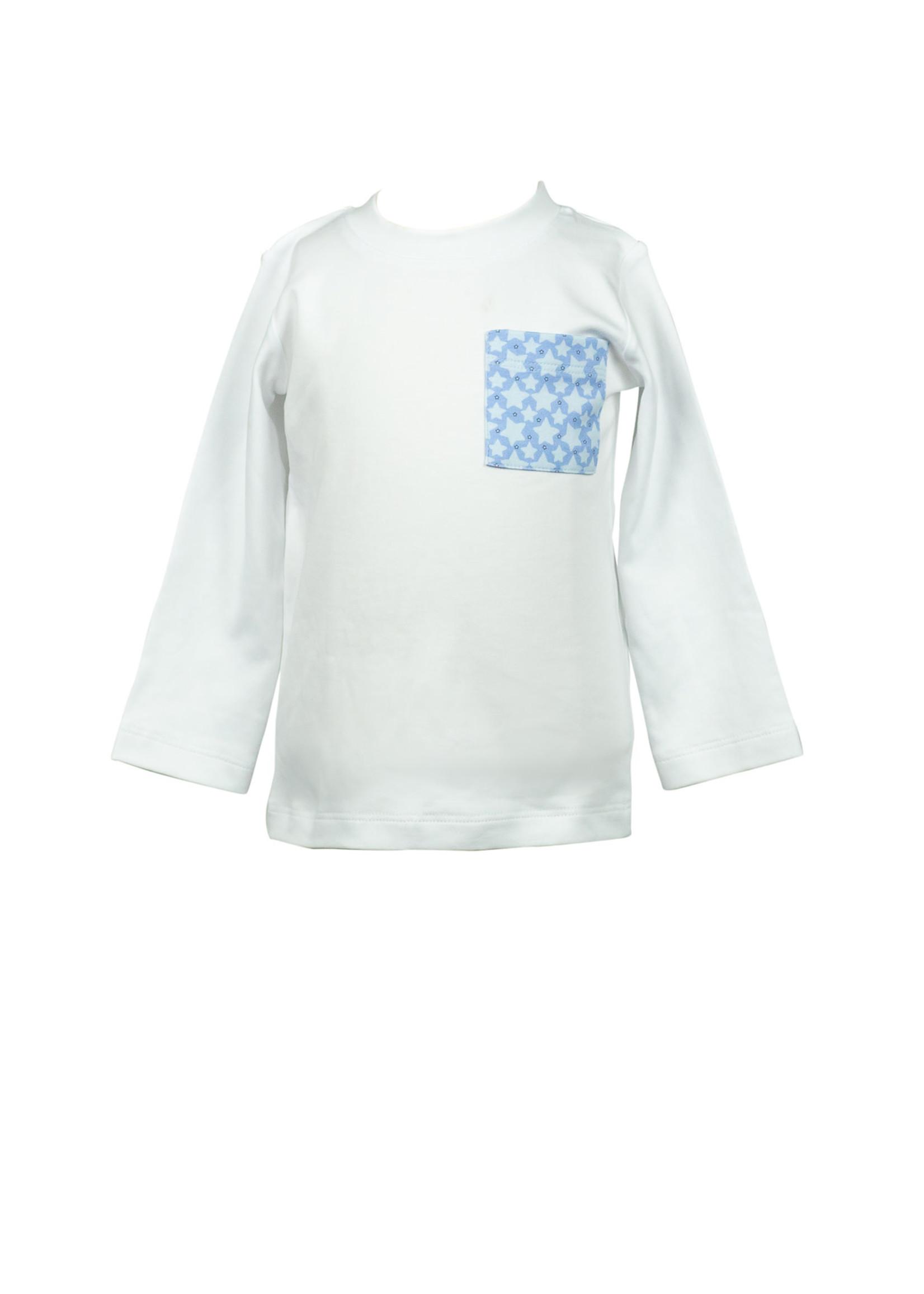 Proper Peony Stars Boy Pocket Tshirt