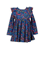 Proper Peony Winter Berry Twirl Dress