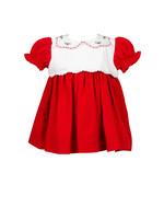 Proper Peony Tinsel Red Dress