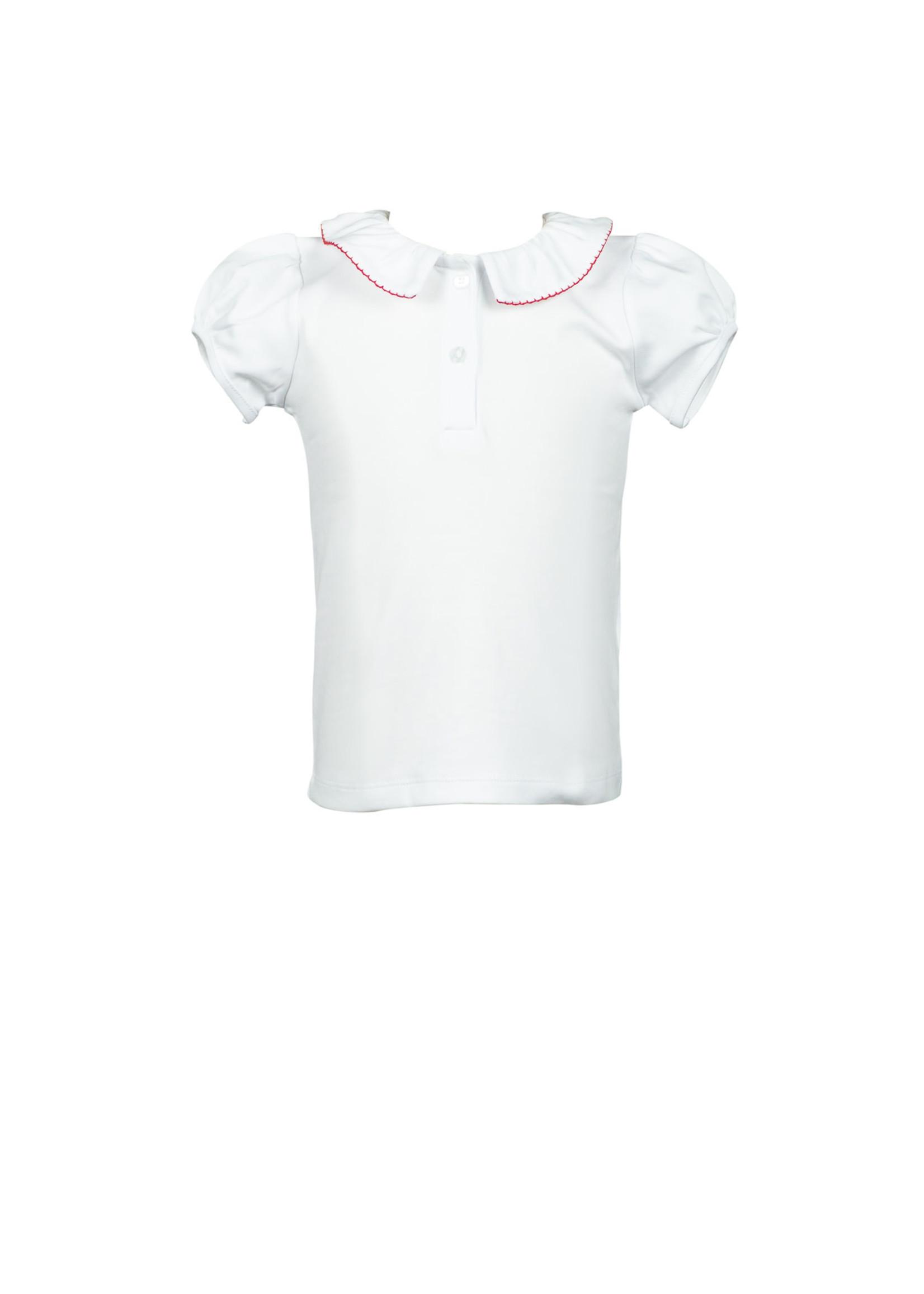 Proper Peony Apple White/Red  Shirt