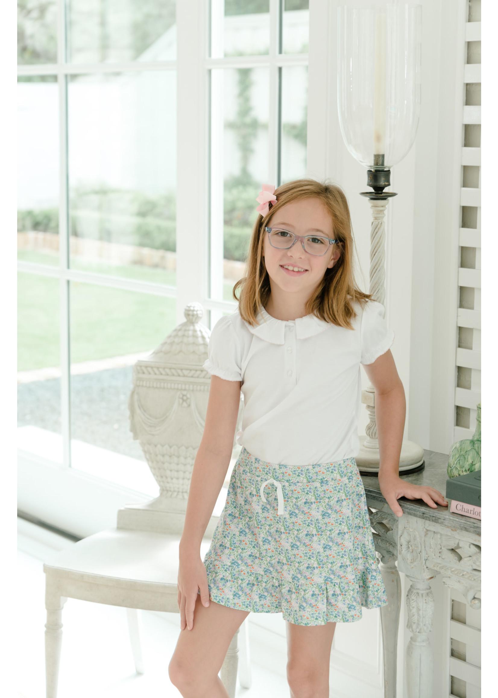 Proper Peony Fall Floral Skirt