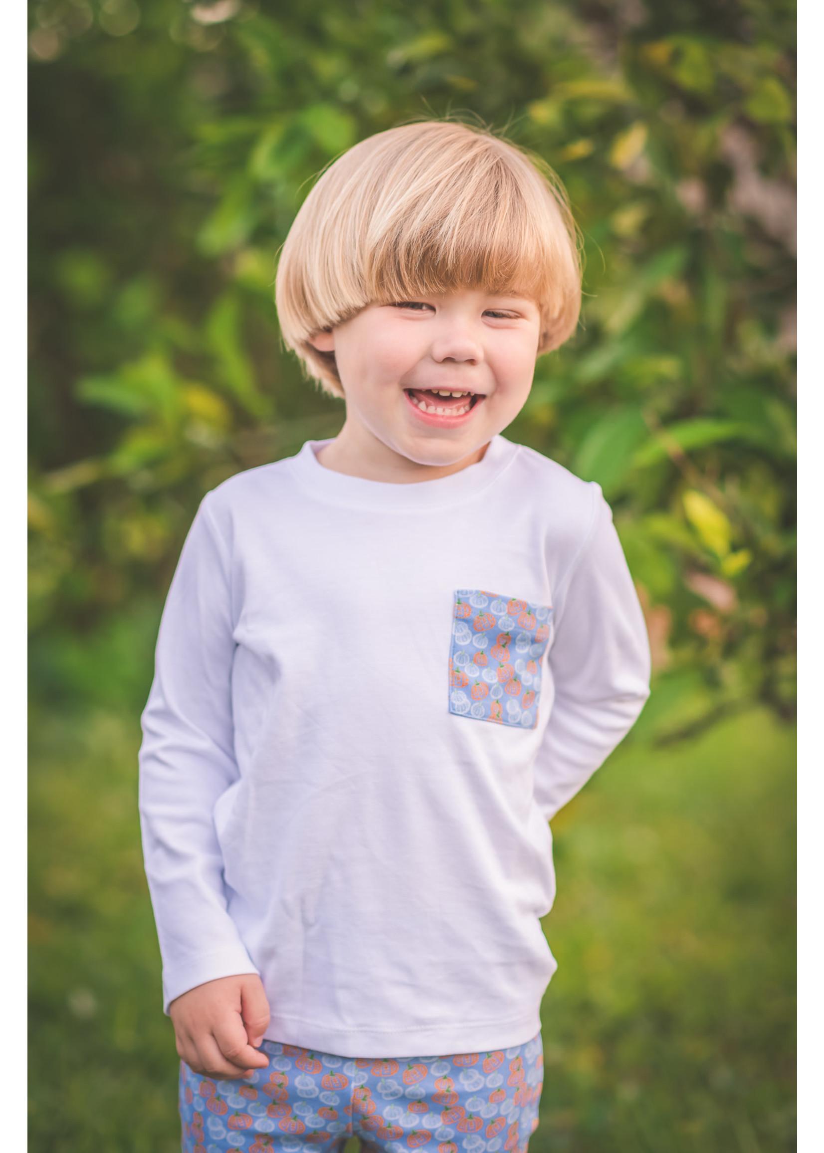 Proper Peony Pumpkin Patch Boy T shirt