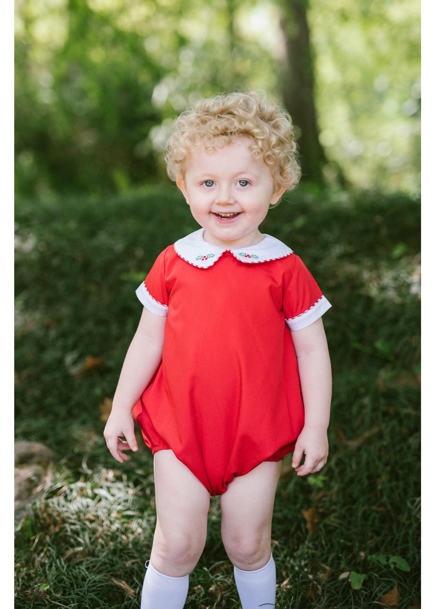 Proper Peony Tinsel Red Boy Bubble