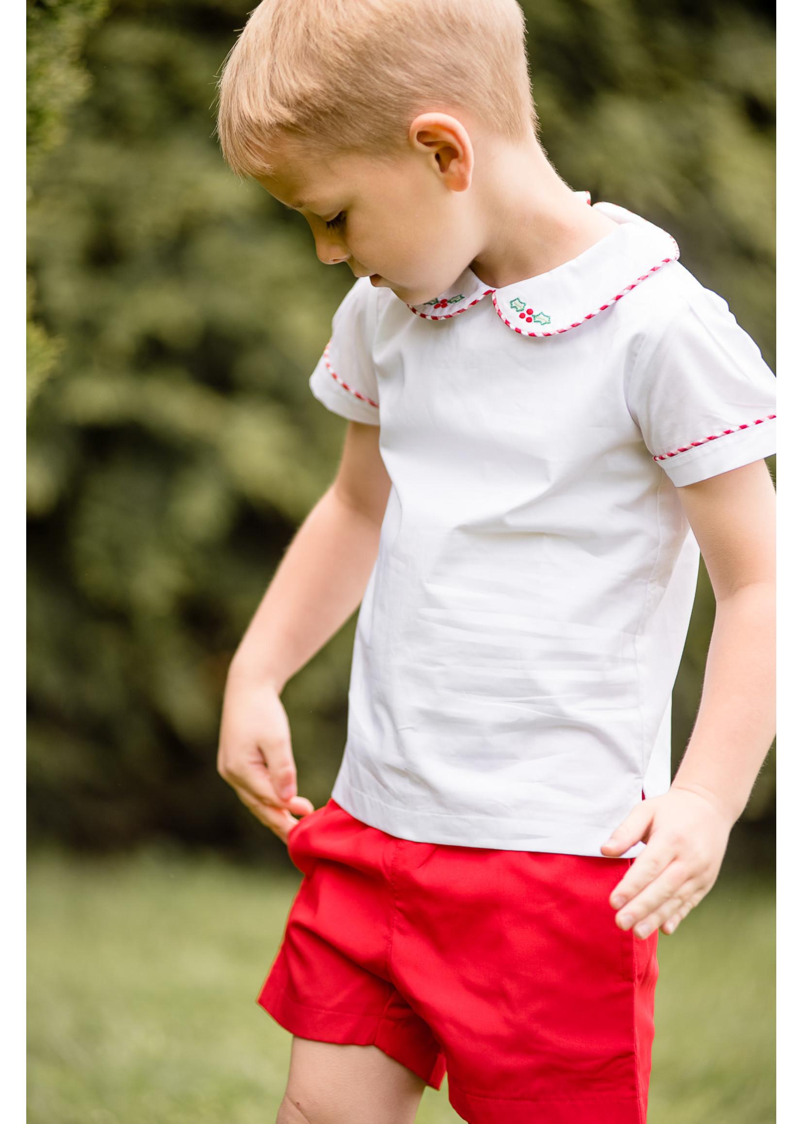 Proper Peony Tinsel Boy Short Set