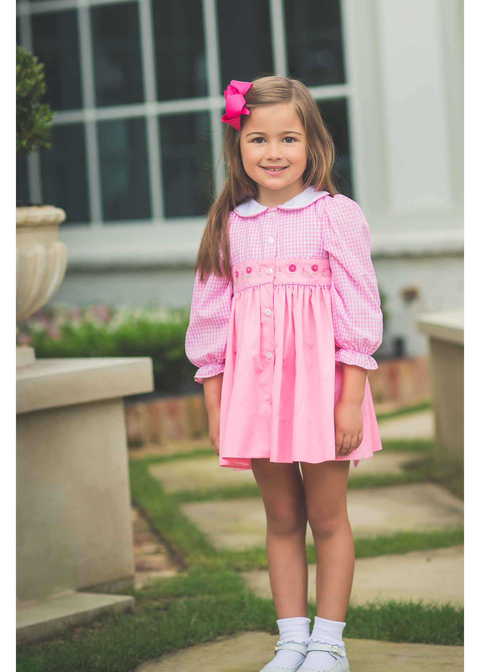 Proper Peony Tallaluh Pink Gingham Dress