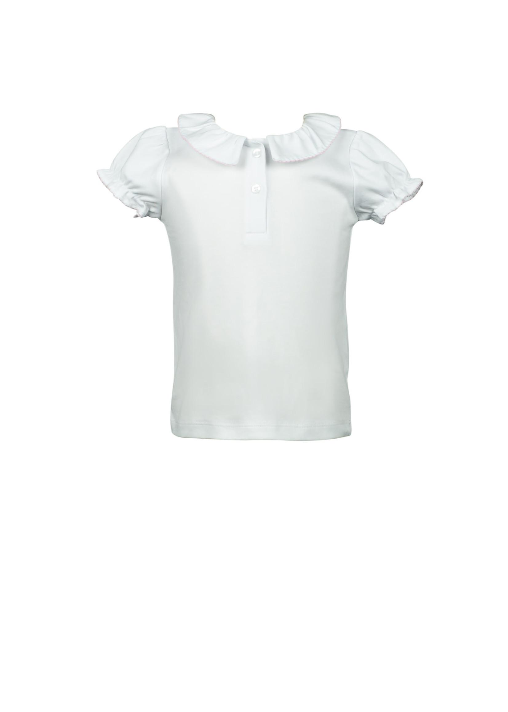 Proper Peony Rainbow Split Collar shirt
