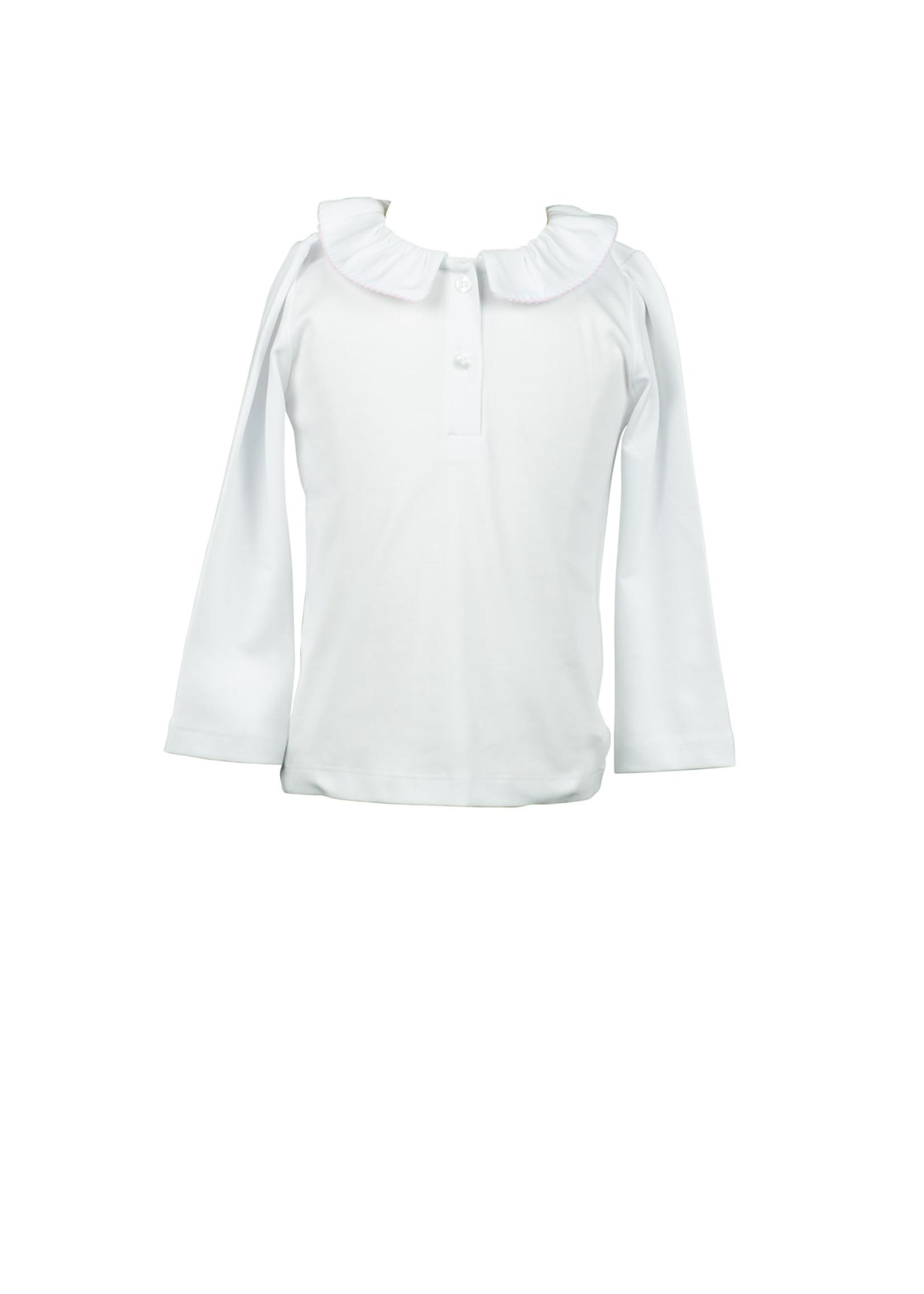Proper Peony Fall Floral Split Collar Shirt