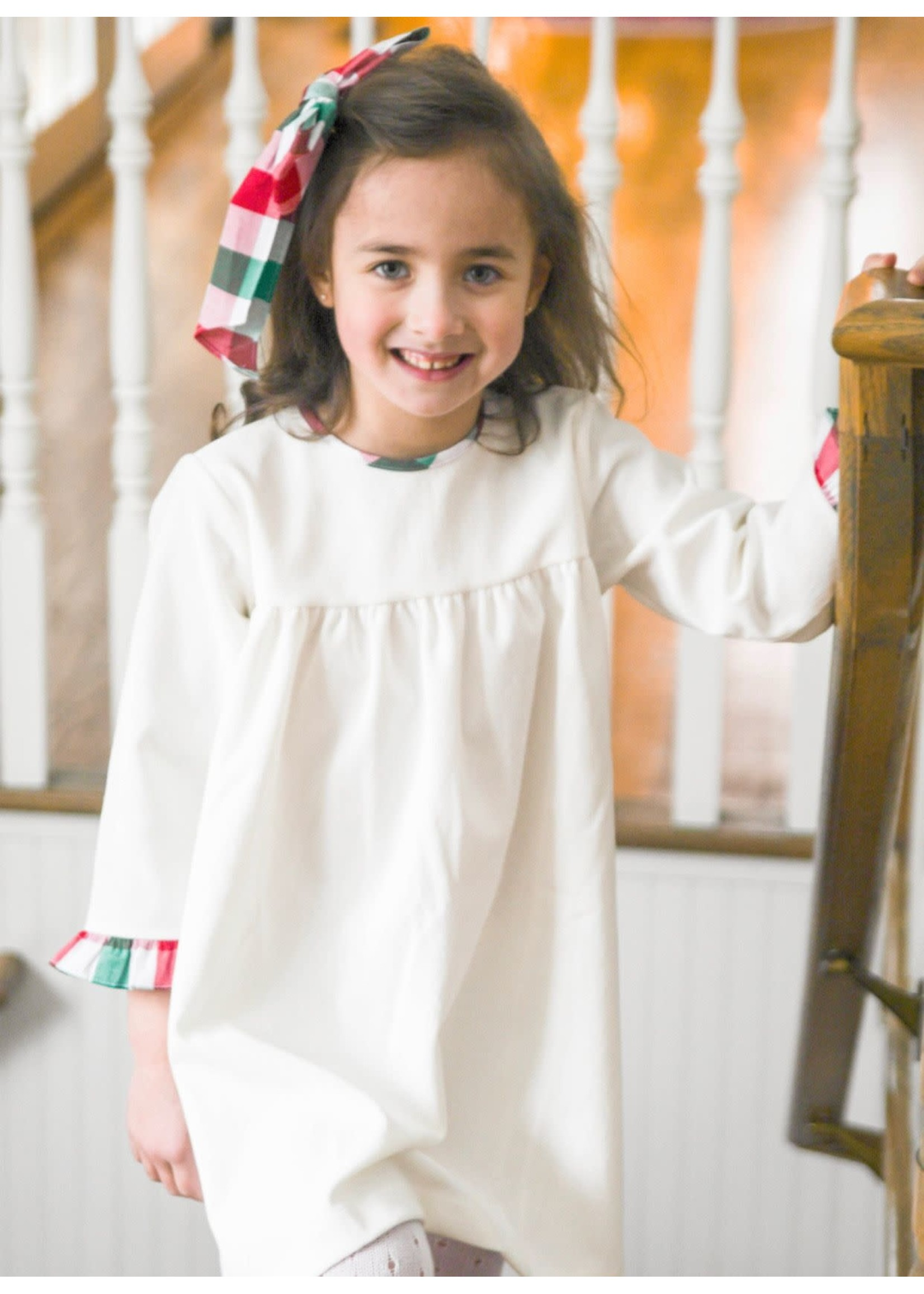 james and lottie Christmas Plaid Greta Dress