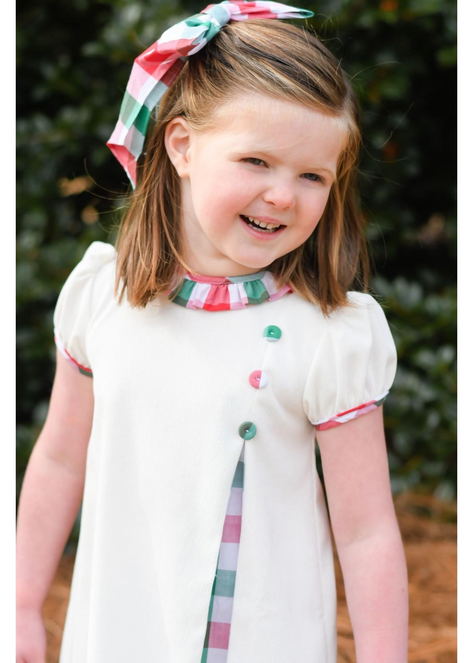 james and lottie Christmas Plaid Payton Dress