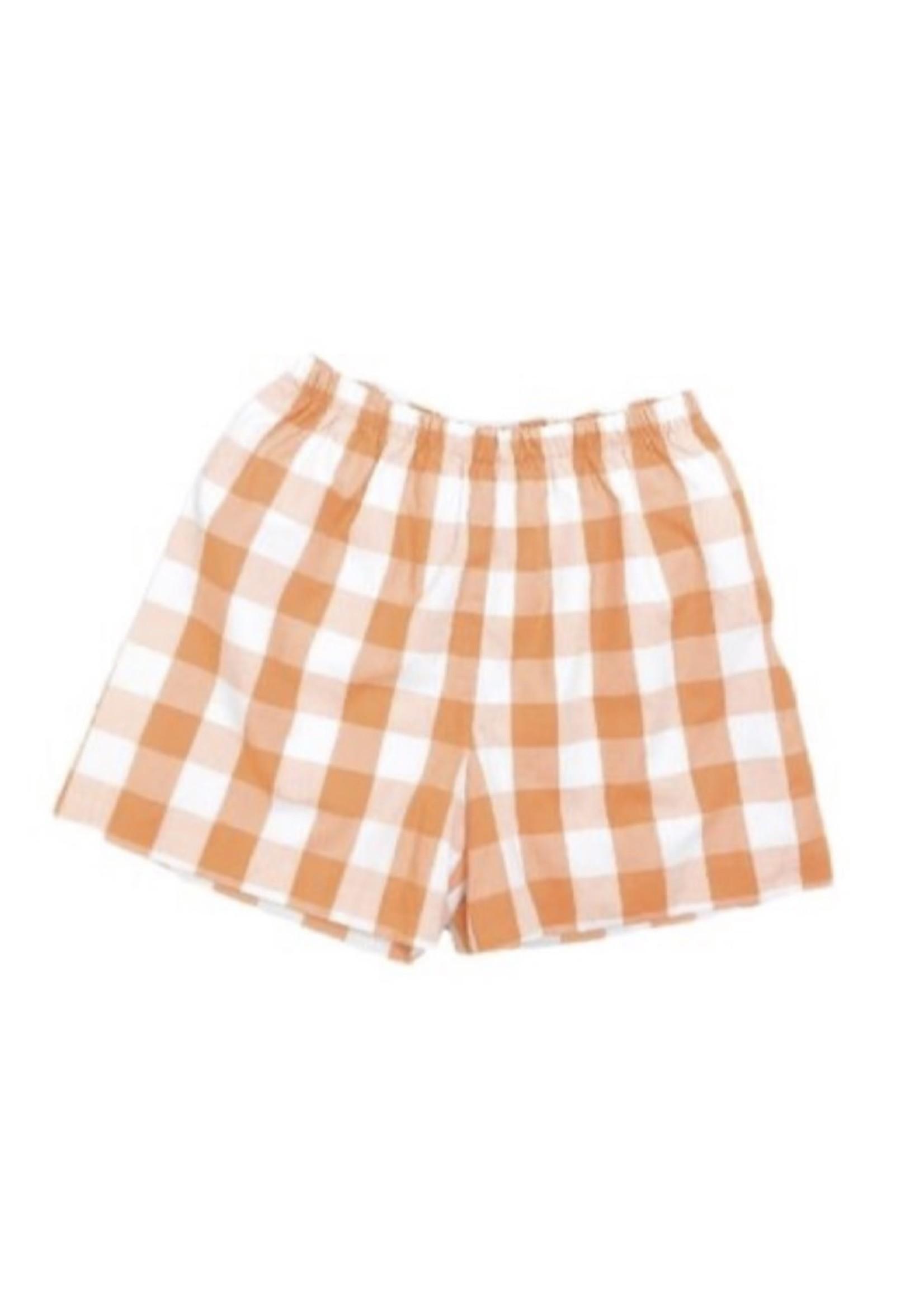 james and lottie Orange Conrad Shorts