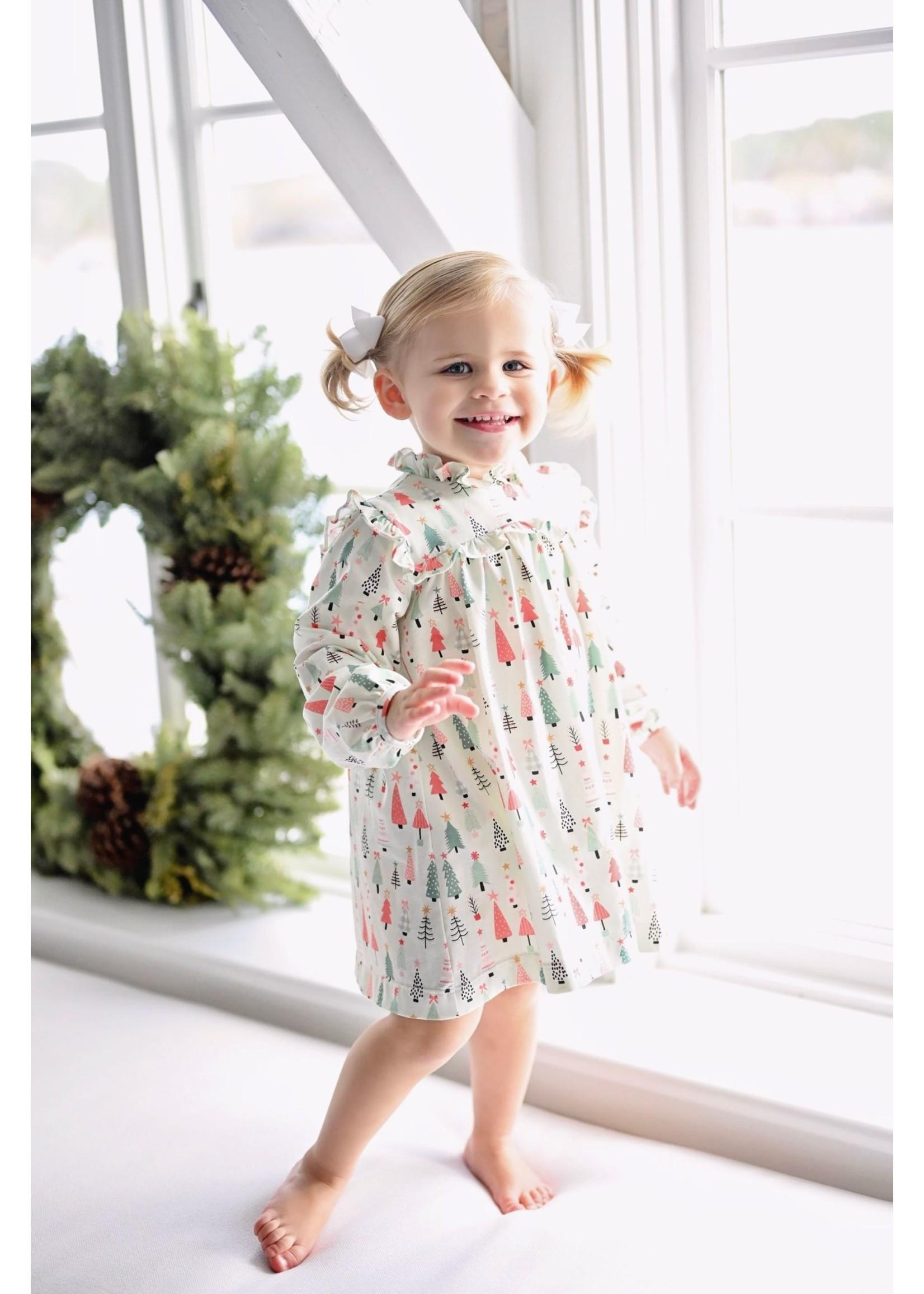 james and lottie Christmas Dress Janey Dress