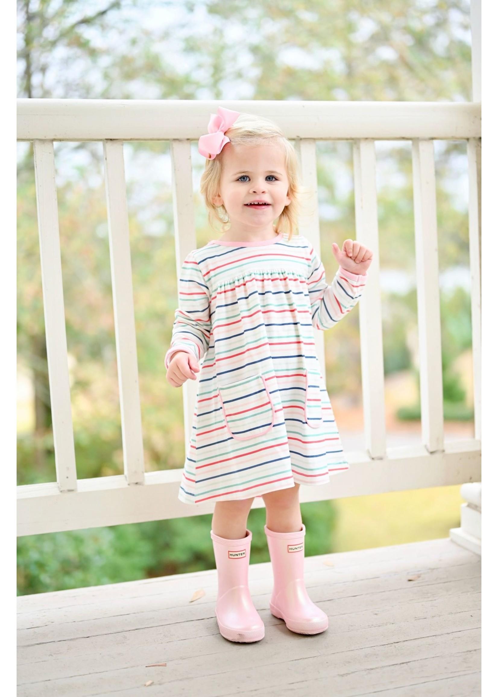 james and lottie Stripe Lennon Dress