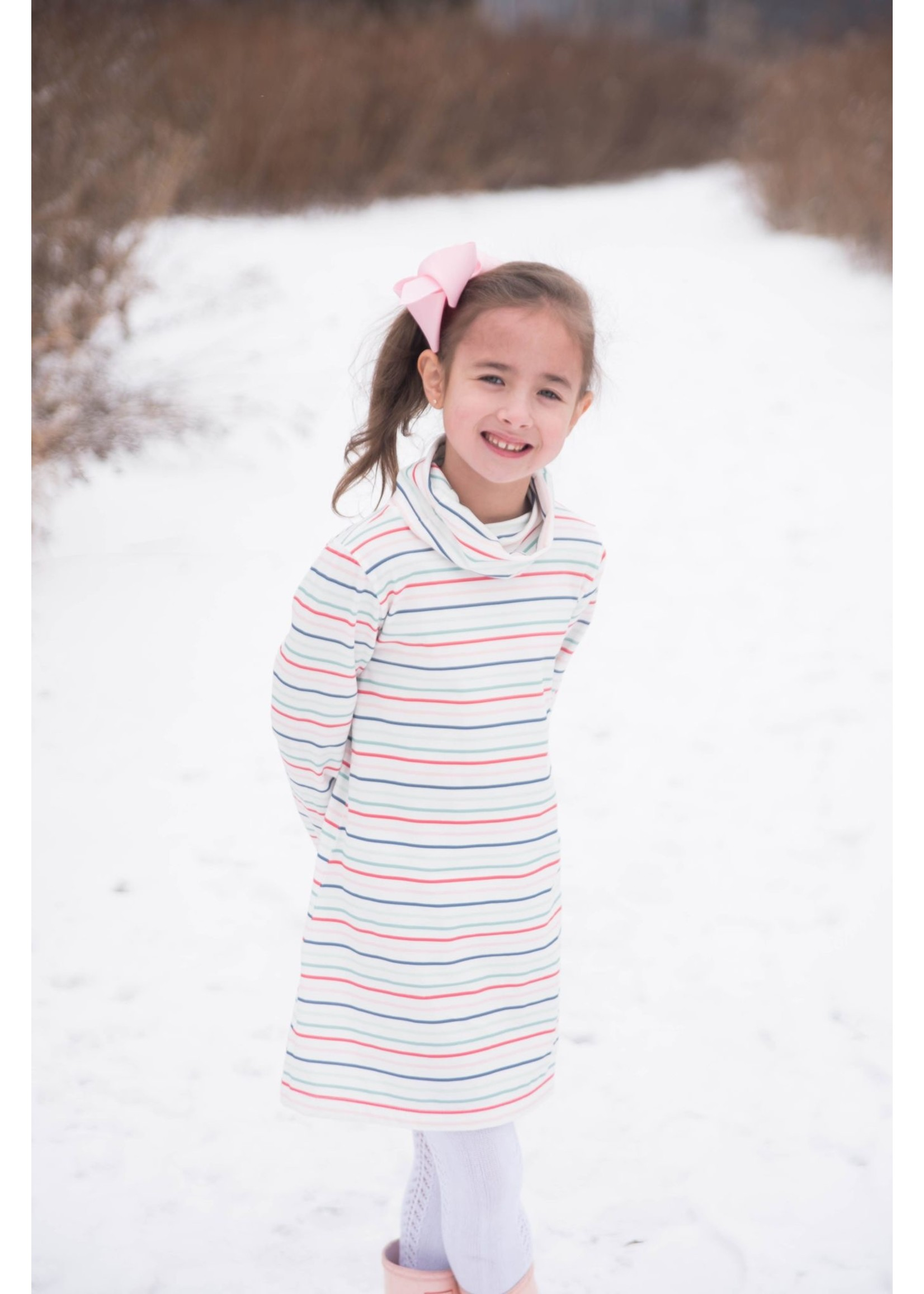 james and lottie Stripe Lanier Dress