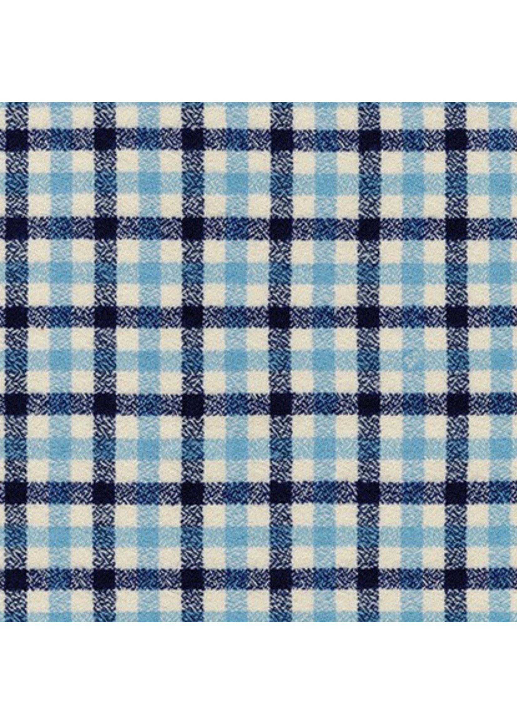 james and lottie Blue Plaid Ryan Shirt