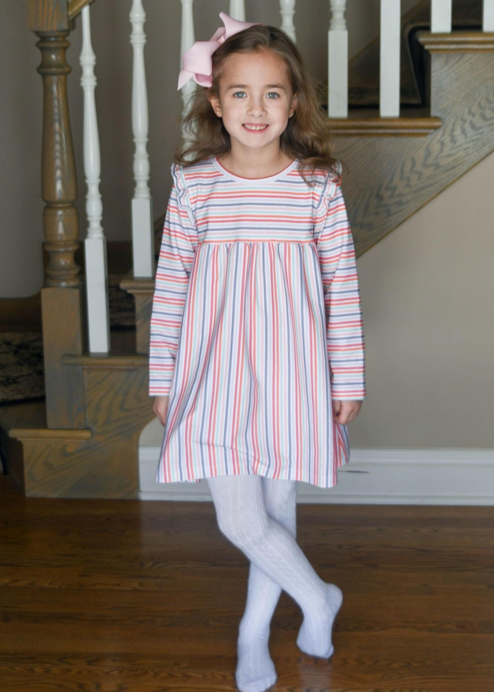james and lottie Knit Stripe Charlotte Dress