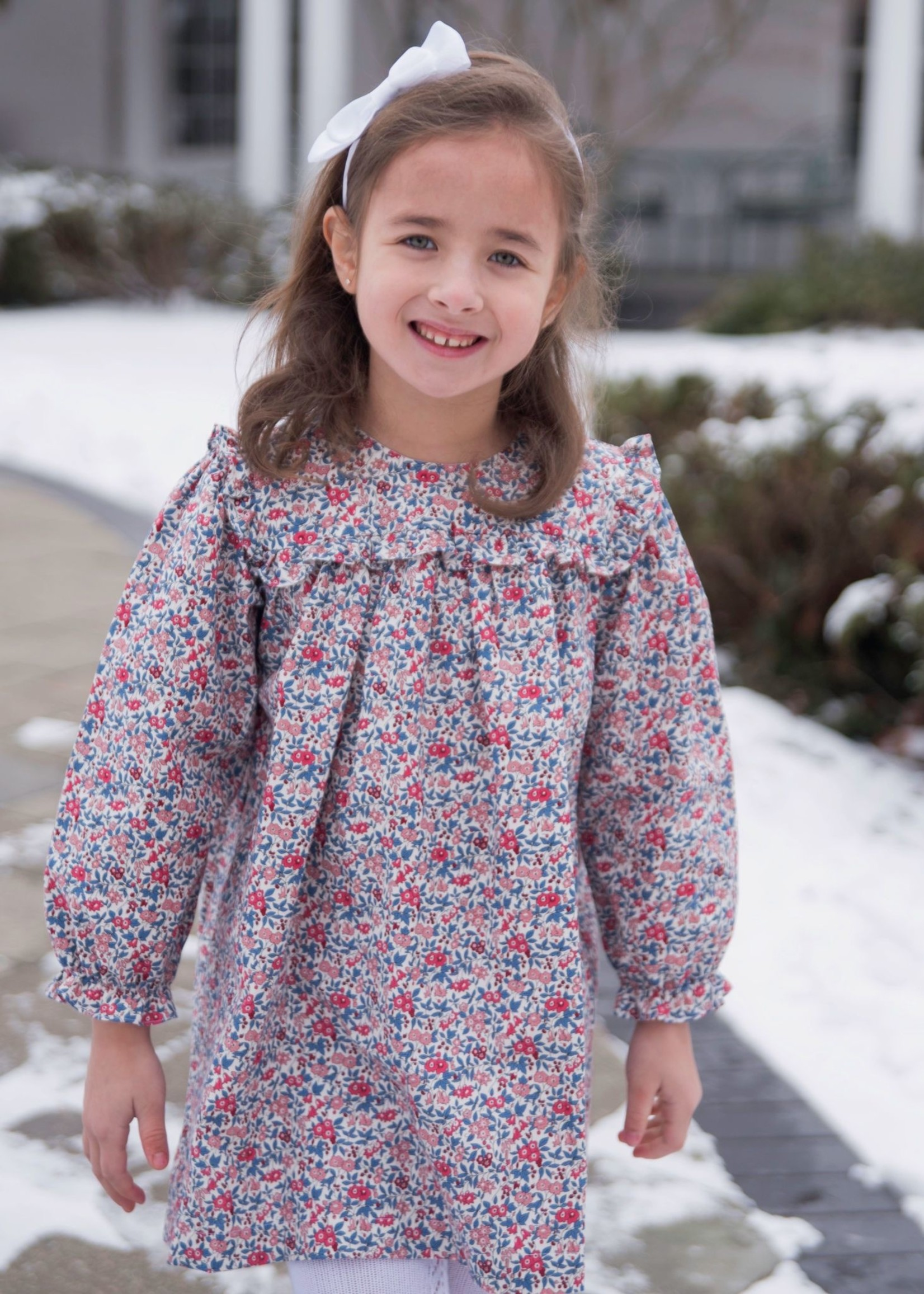 james and lottie Floral Cecilla Dress