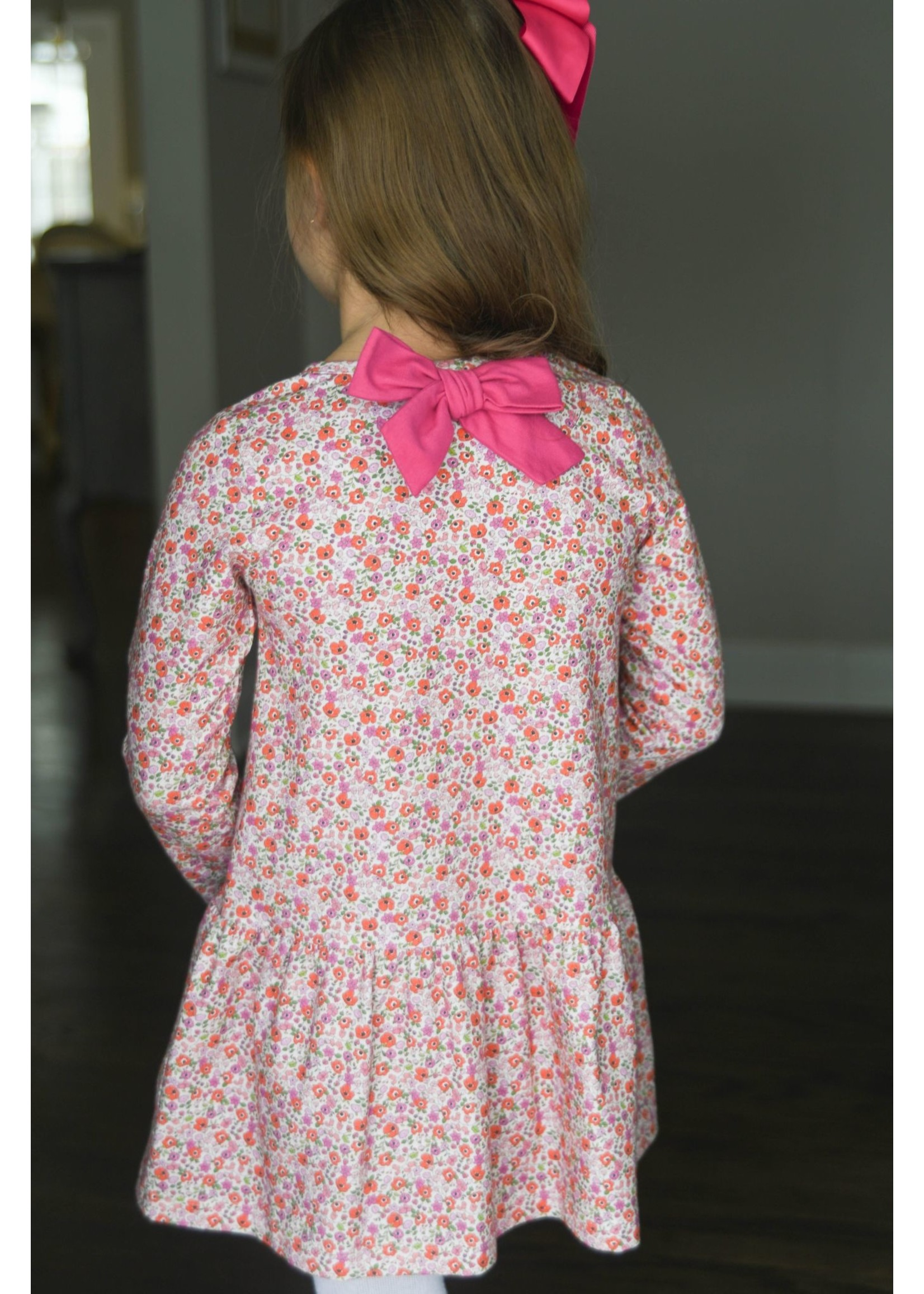 james and lottie Floral Knit Loren Dress