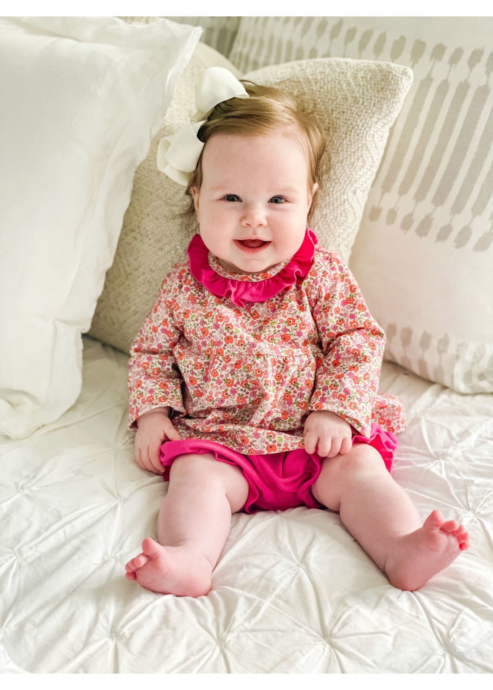 james and lottie Floral Sally Bloomer Set