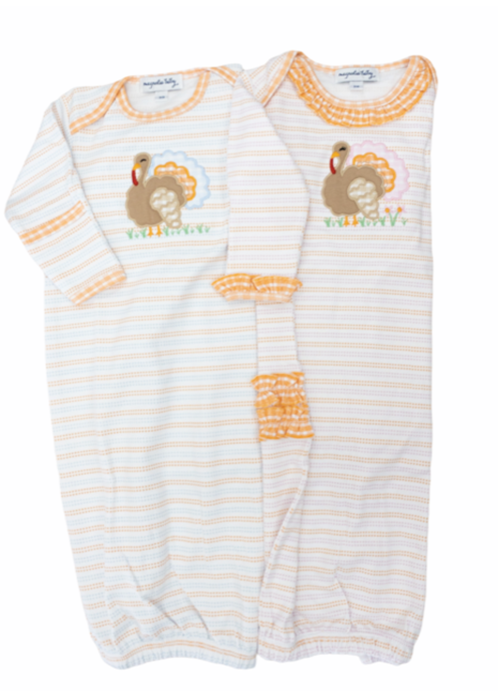 Magnolia Baby Turkey Time Lap Gown