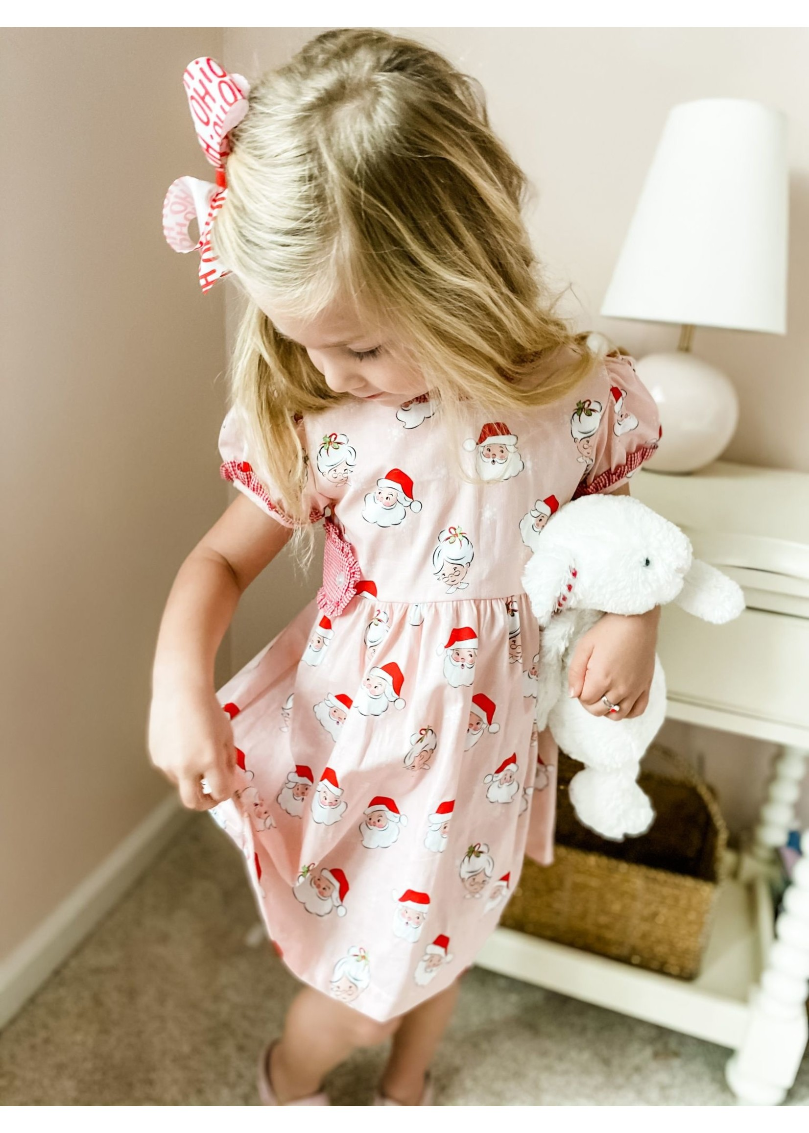 james and lottie Santa Tabitha Tab Dress