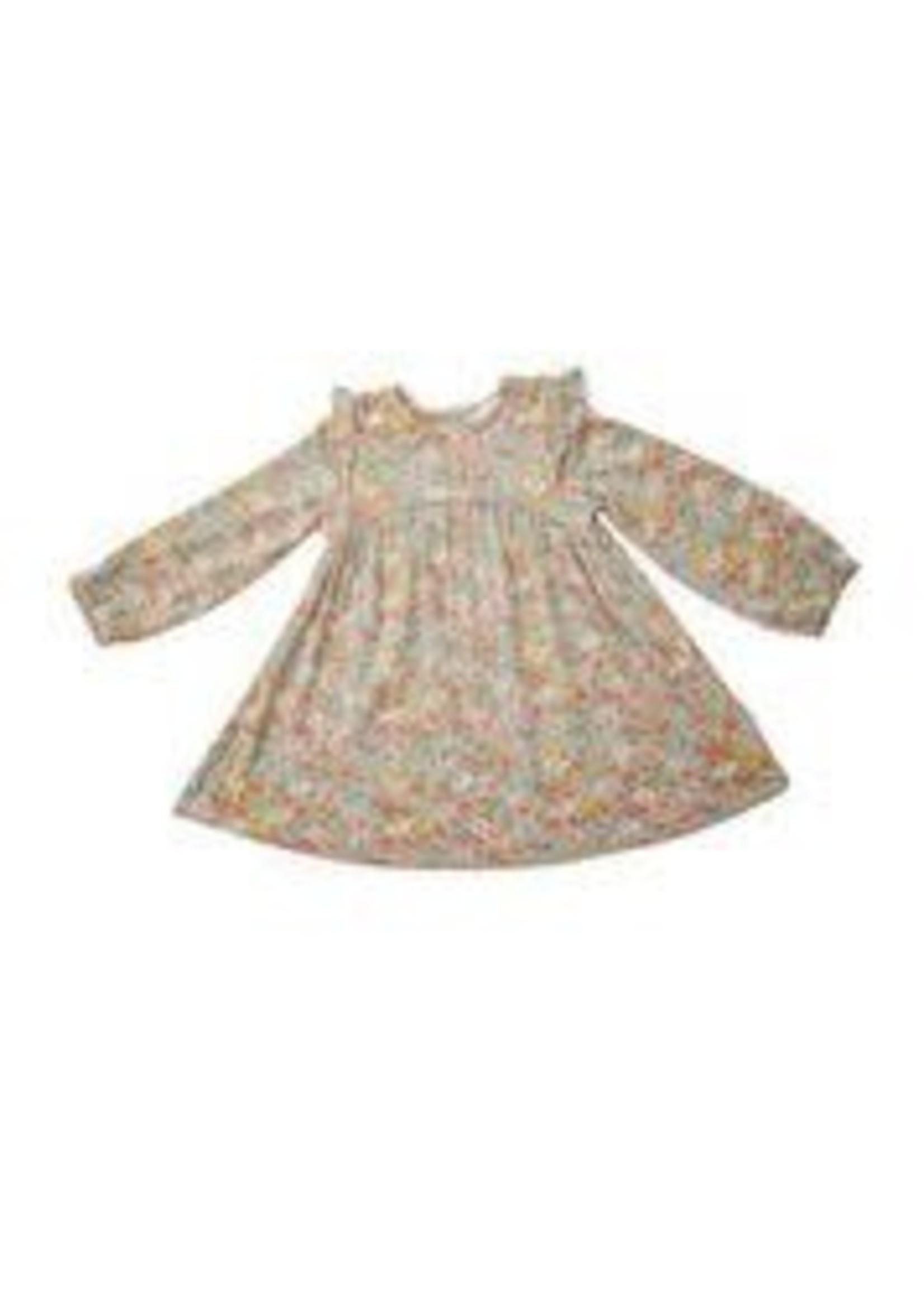 Angel Dear Floating Floral Ruffle Dress & Legging