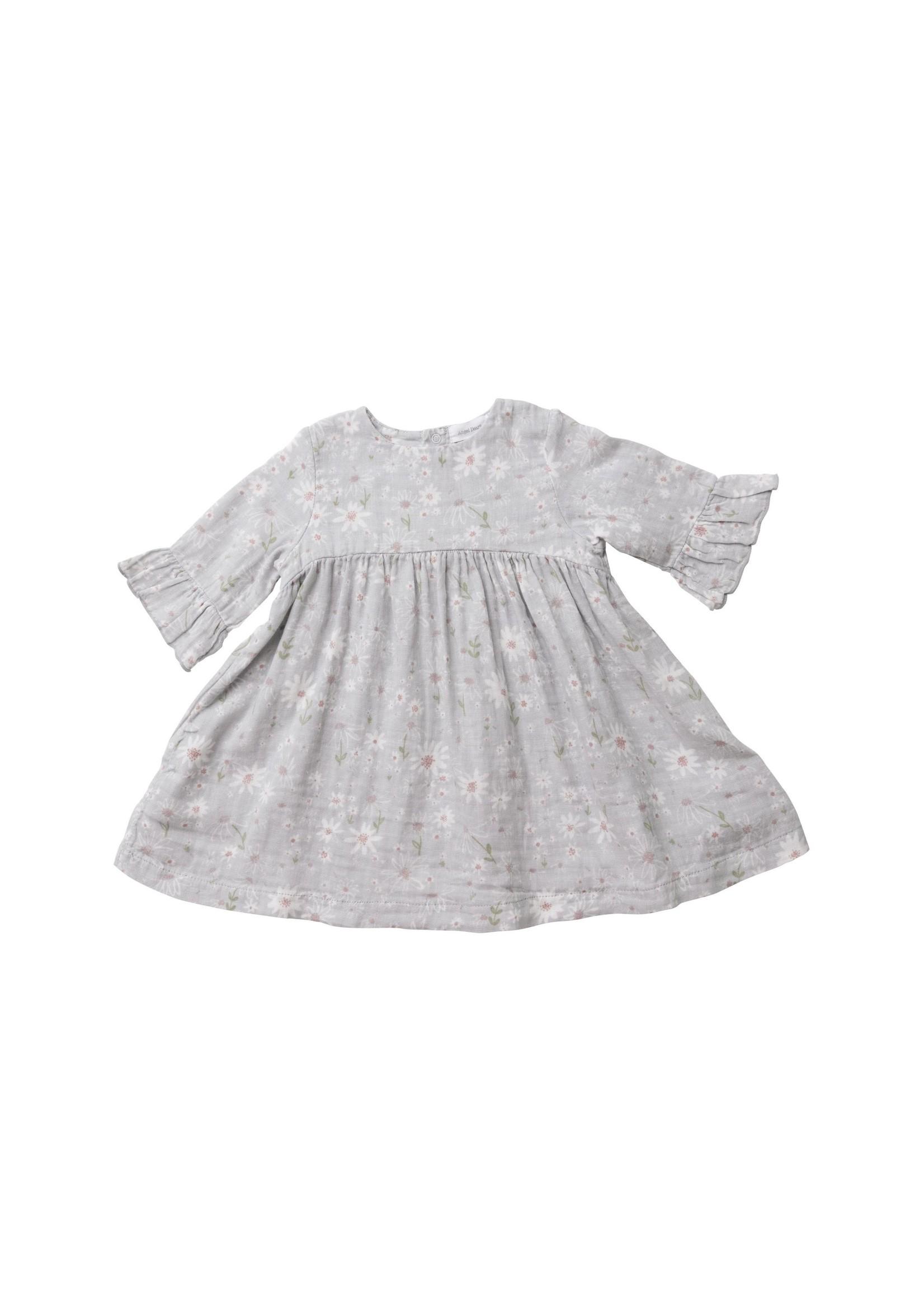Angel Dear Sweet Dasies Bell Sleeve Dress w/ Legg