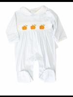 Baby Loren Pumpkin Smocked Bishop Footie