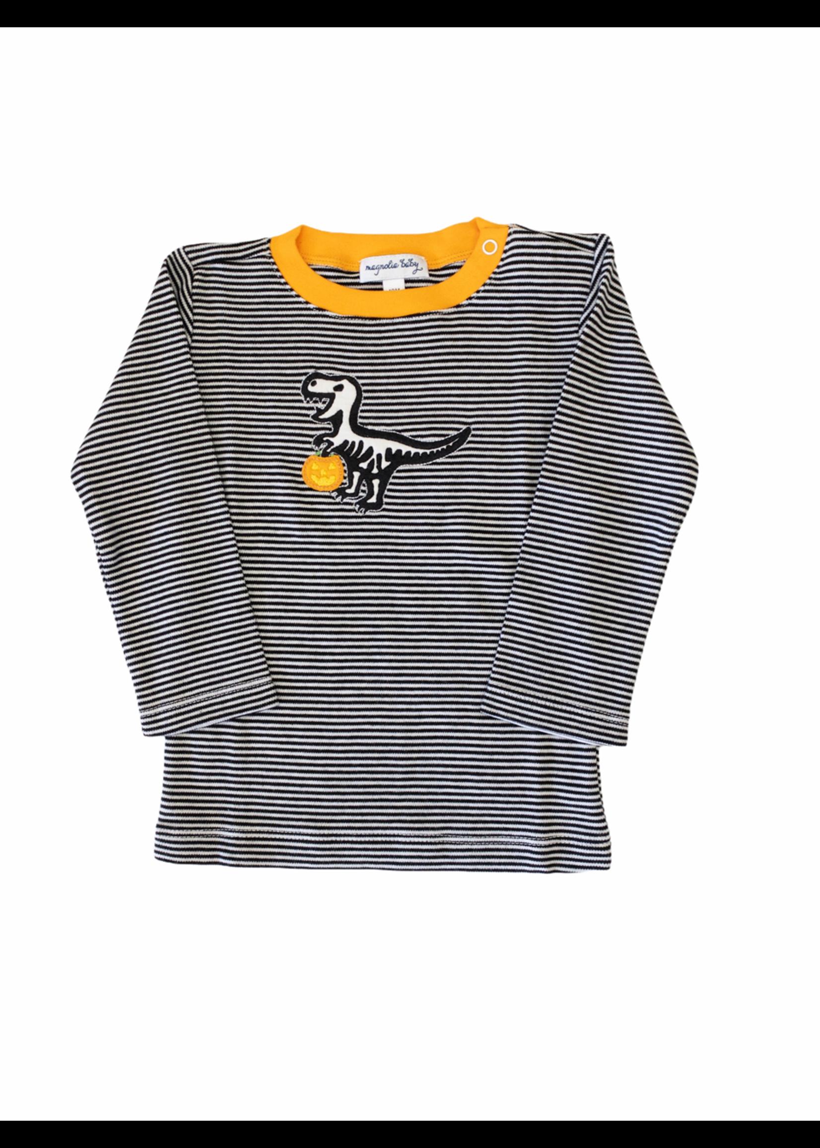 Magnolia Baby Dino Skeleton L/S T-Shirt