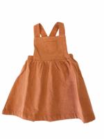 Angel Dear Rust Orange Corduroy Overall