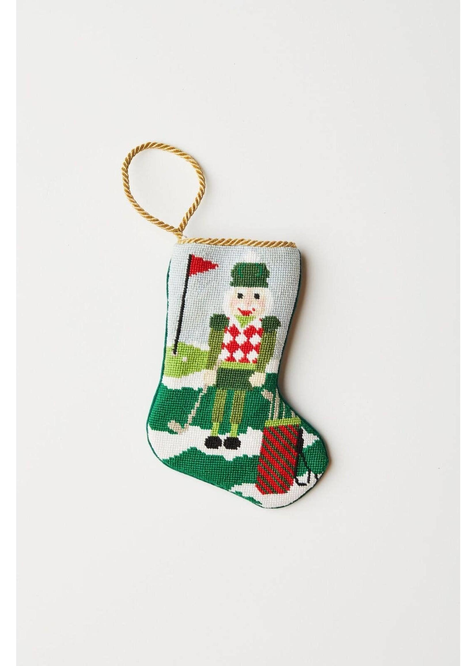 Bauble Stockings Bauble Stocking - Christmas Birdie Golf