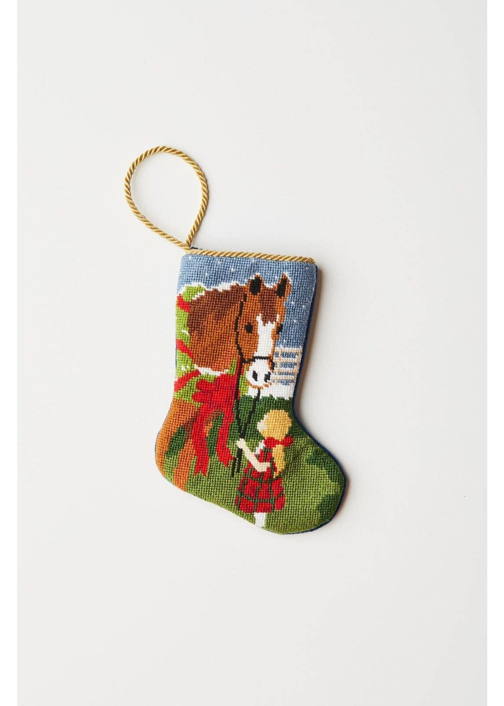 Bauble Stockings Bauble Stocking - All I Want for Christmas/Girl with Horse
