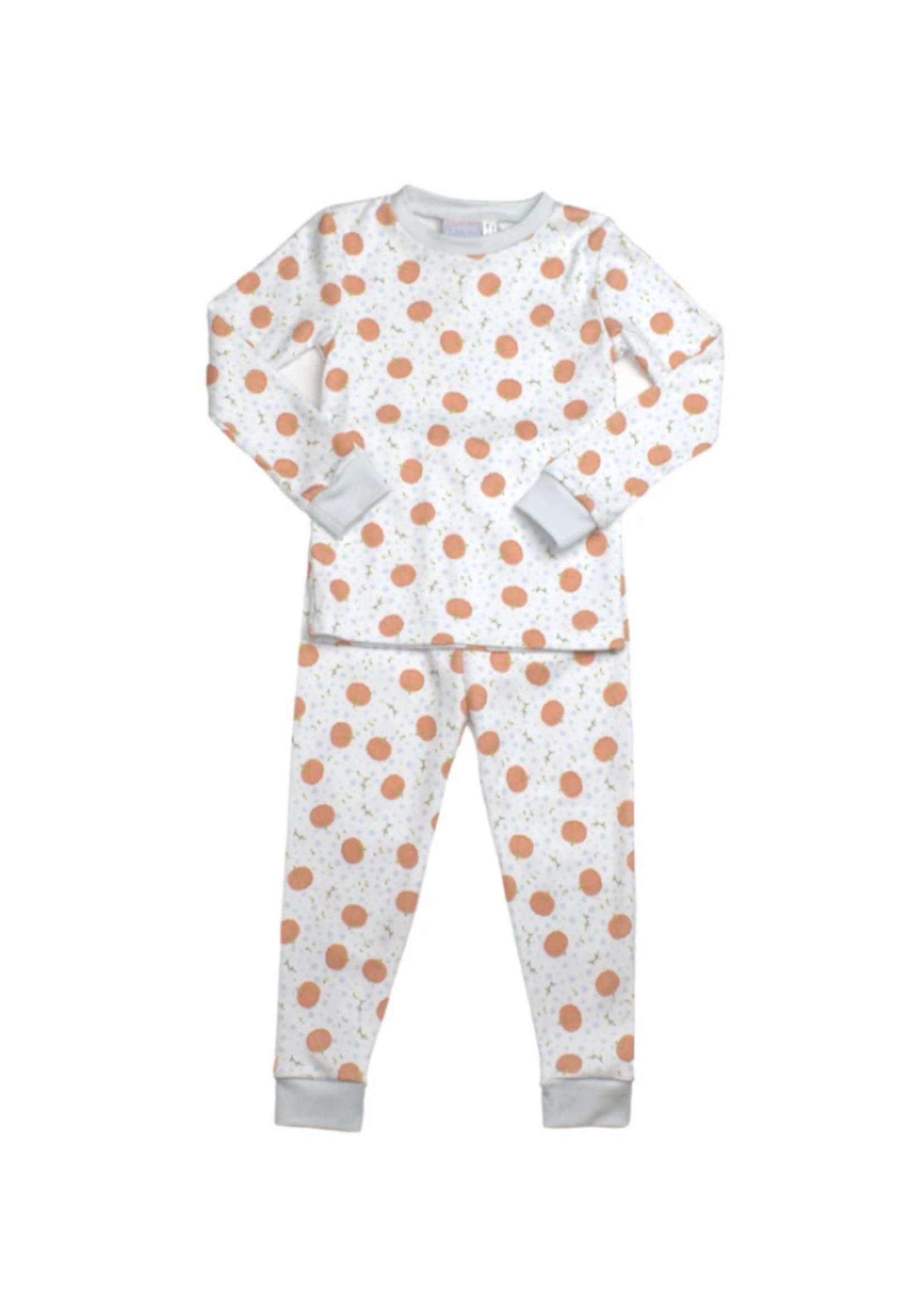 Lullaby Set Pumpkin Sweet Pea PJ Set