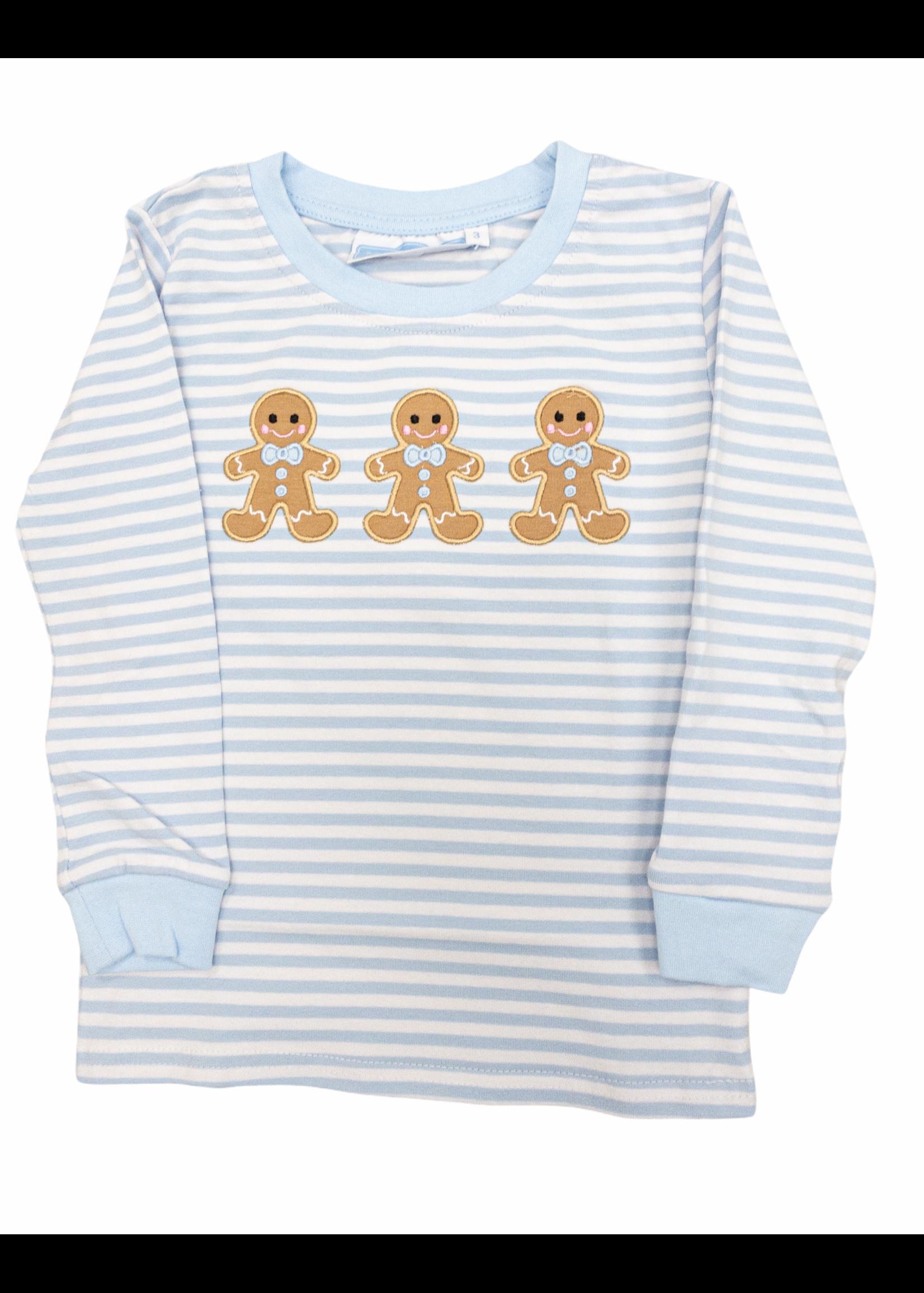 Trotter Street Kids Gingerbread Long Sleeve Shirt