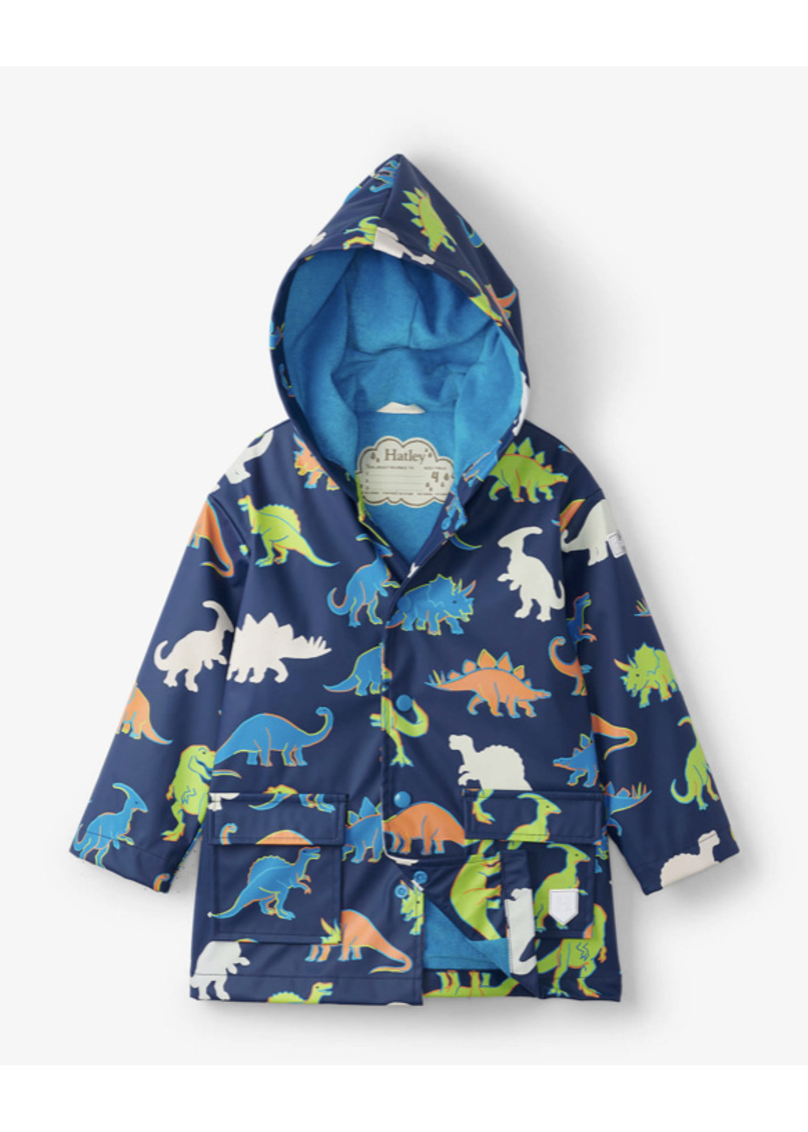 Hatley Dino Colorchanging Raincoat