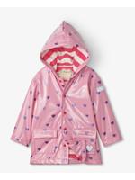 Hatley Hearts Glitter Raincoat