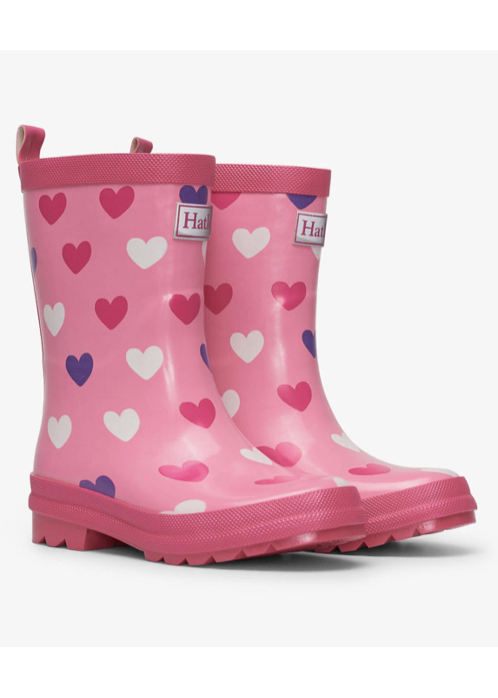Hatley Hearts Rain Boots