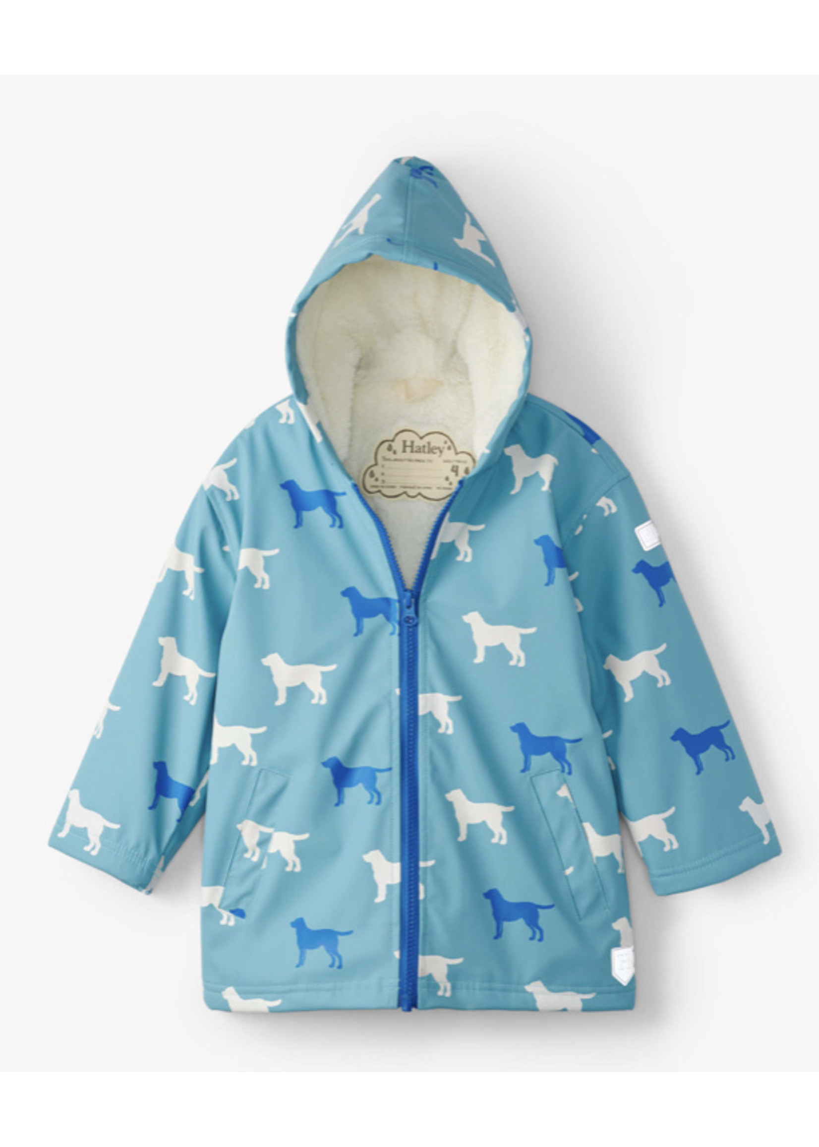 Hatley Friendly Labs Sherpa Lined Color Changing Jacket
