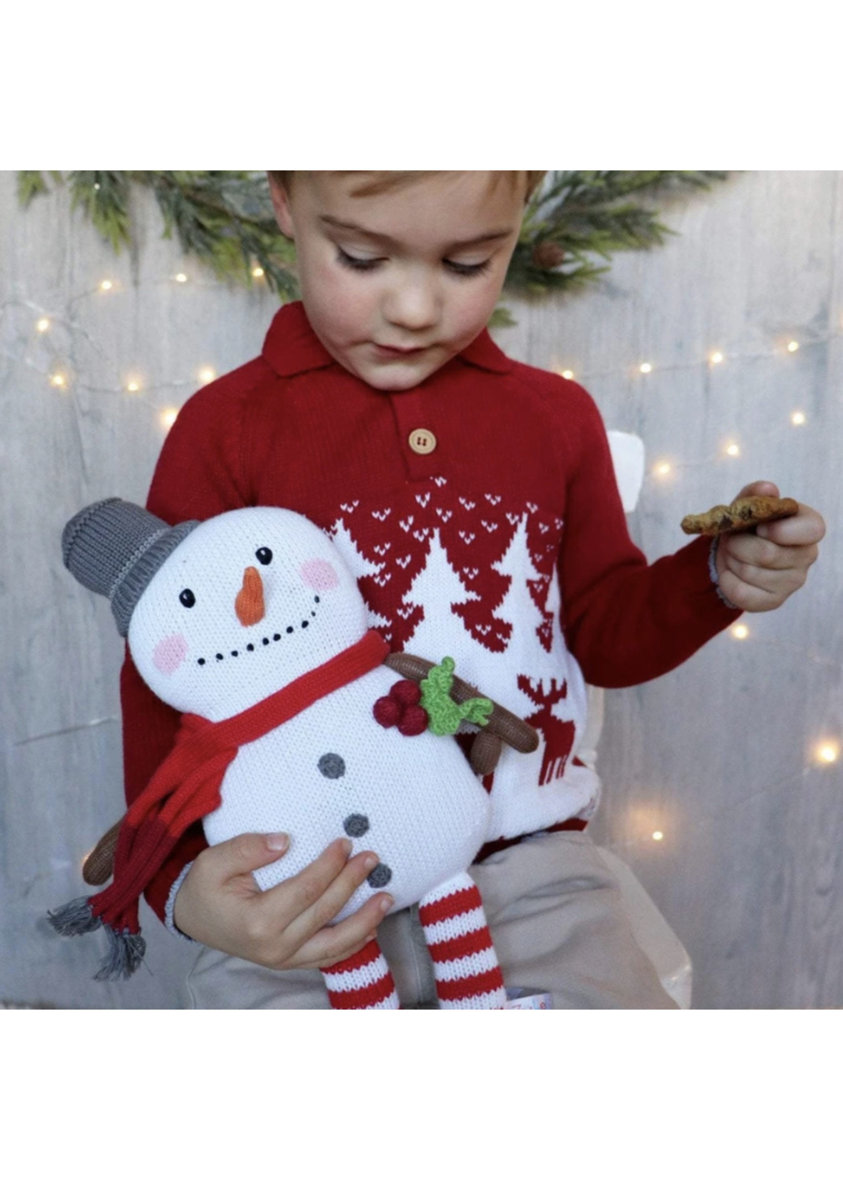 Zubels 14 inch Snowman