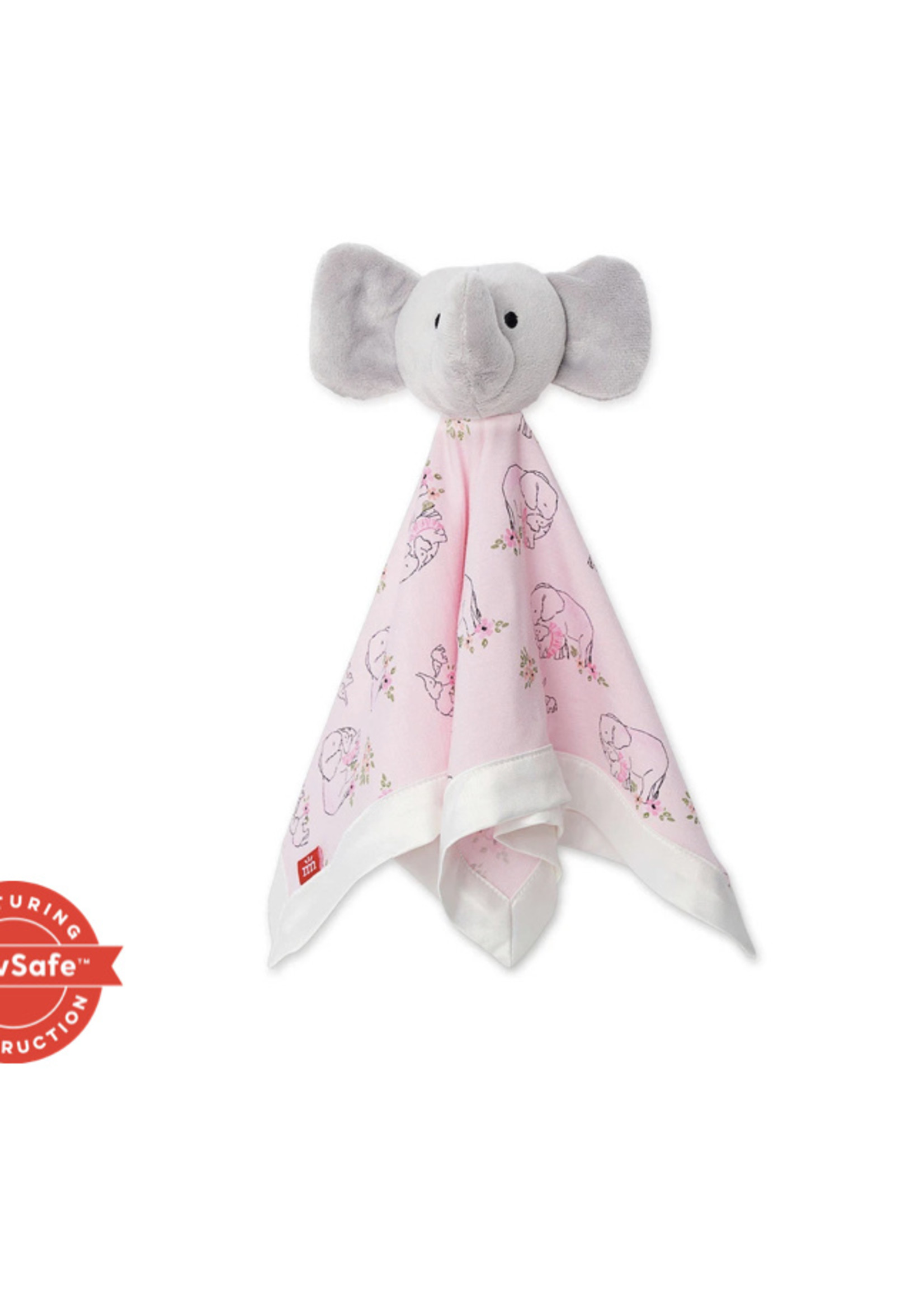magnetic me Pink Love You A Ton Elephant Blanket